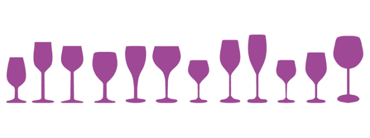 wine, glasses, sizes, finding