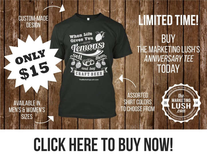 Anniversary Tee - The Marketing Lush