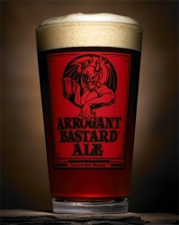 Arrogant Bastard Ale - The Marketing Lush